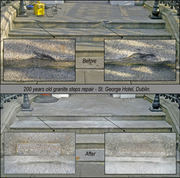 Granite and Marble stairs/steps – Renovation and repairs.