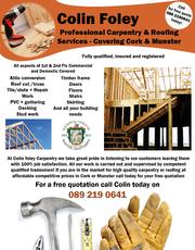 Carpenter Services In Cork